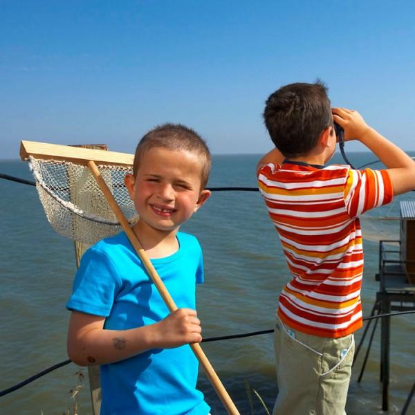 Les plaisirs de la pêche en famille